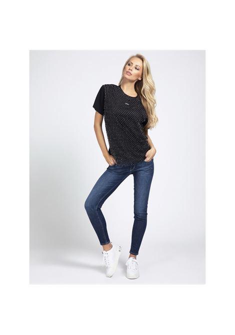T-shirt con applicazioni GUESS | T-shirt | W0BI0L K7DN0JBLK