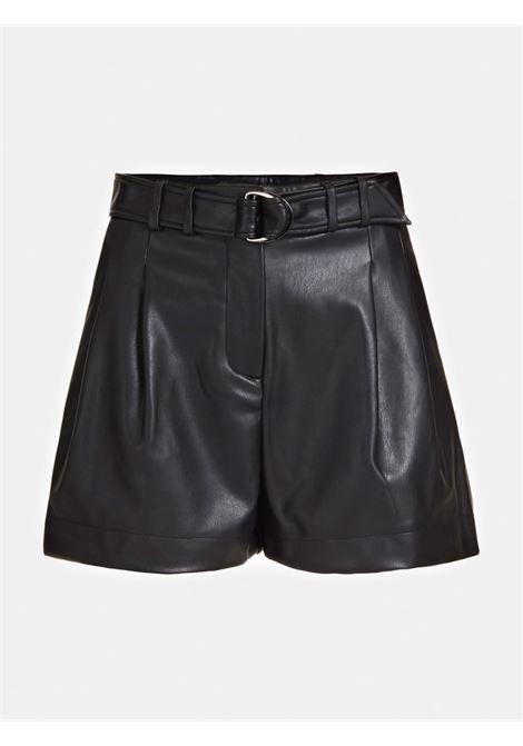 SHORT CINTURA SIMIL PELLE GUESS | Pantalone | W0YD52 WBG60JBLK