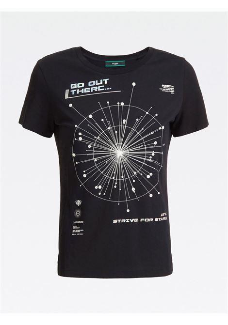 T-shirt con stampa GUESS | T-shirt | W0YI0B K46D1F90V