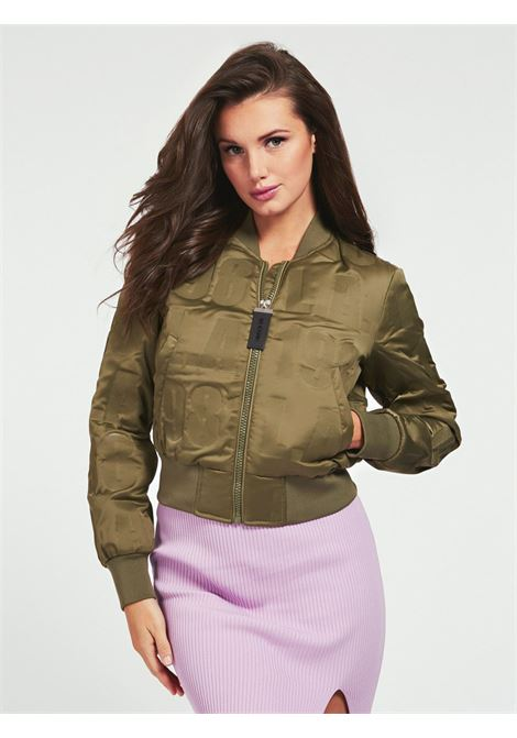 BOMBER LOGO ALL OVER GUESS | Giubbino | W0YL59 WD1V0GKOL