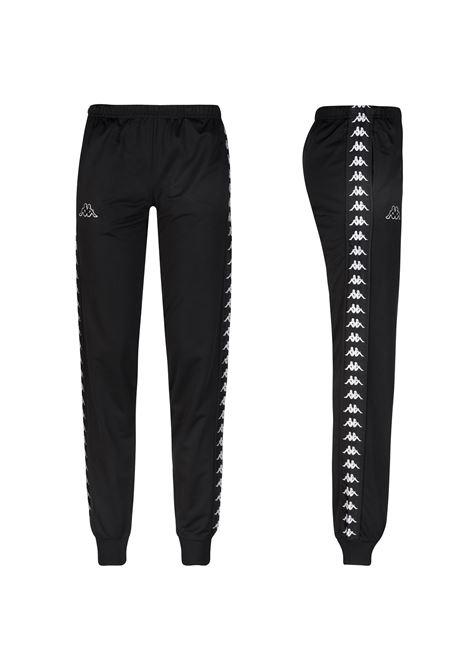 Pantaloni da donna in tricot garzato Kappa | Pantalone | 303R5K0J14 BLACK