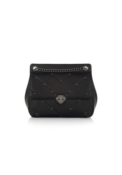 Mini bag con chiusura a girello LE PANDORINE | Borsa | CRIS MINI PROGRESSBLACK