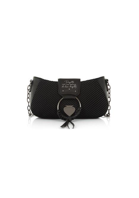 Mini bag con chiusura a zip LE PANDORINE | Borsa | VICKY BAGUETTE PERFETTABLACK