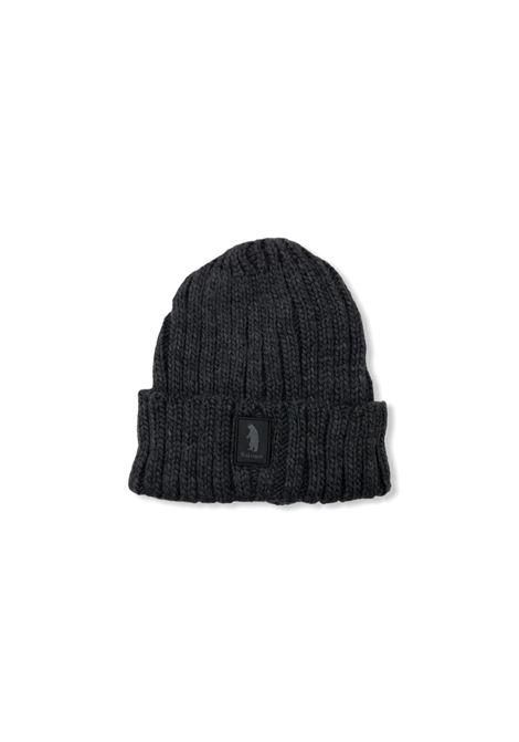 Cappello costine logo REFRIGUE | Cappello | R85126NAV2M11080 LEAD MELANGE