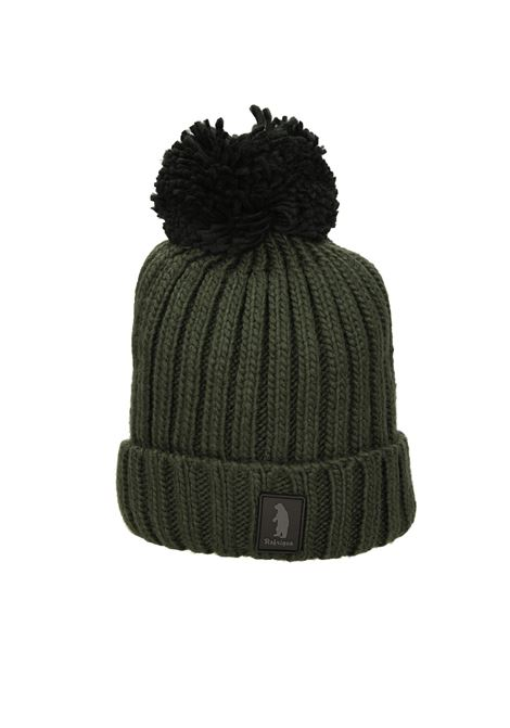 Cappello costine logo REFRIGUE | Cappello | R85129NAV2M11352 BLACK/BLACK FOREST