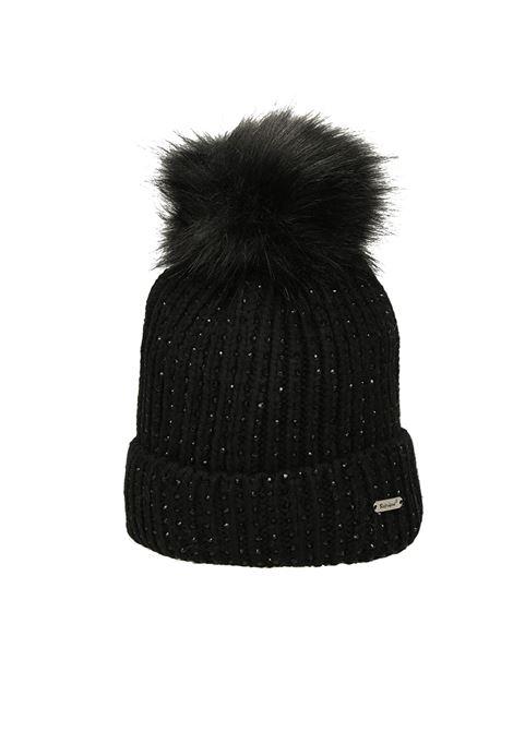 Cappello con applicazioni REFRIGUE | Cappello | R85145NAV2W001 BLACK