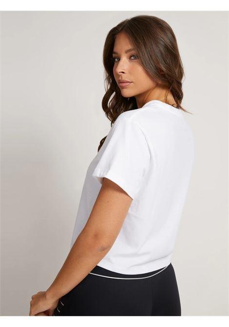 T-shirt crop triangolo logo GUESS ACTIWEAR | T-shirt | O1BA70 JR06ZG011