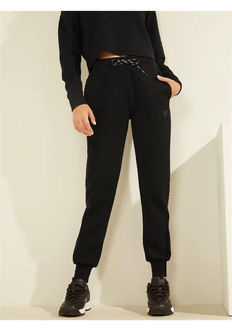 Pantaloni con banda logata GUESS ACTIWEAR   Pantalone   O1GA49 KAMN2JBLK