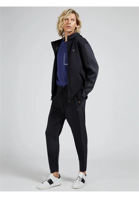 Pantaloni tecnici senza cuciture GUESS ACTIWEAR | Pantalone | U1BA64 ZZ04QJBLK