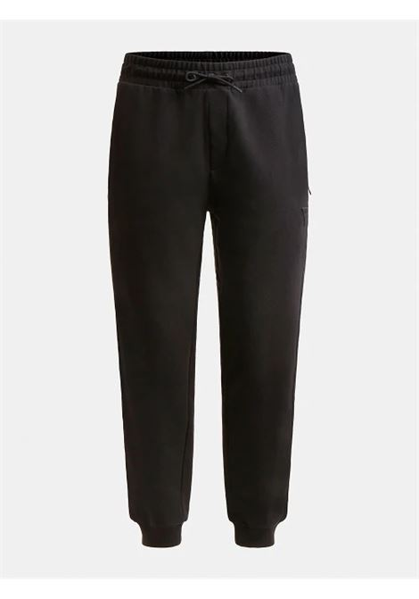 Pantalone logo fascia stampata GUESS ACTIWEAR   Pantalone   U1GA11 K6ZS1JBLK