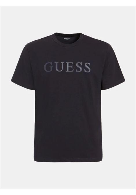 T-shirt logo frontale GUESS ACTIWEAR | T-shirt | U1YA00 JR06KDPM