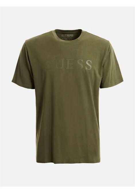 T-shirt logo frontale GUESS ACTIWEAR | T-shirt | U1YA00 JR06KG8F6