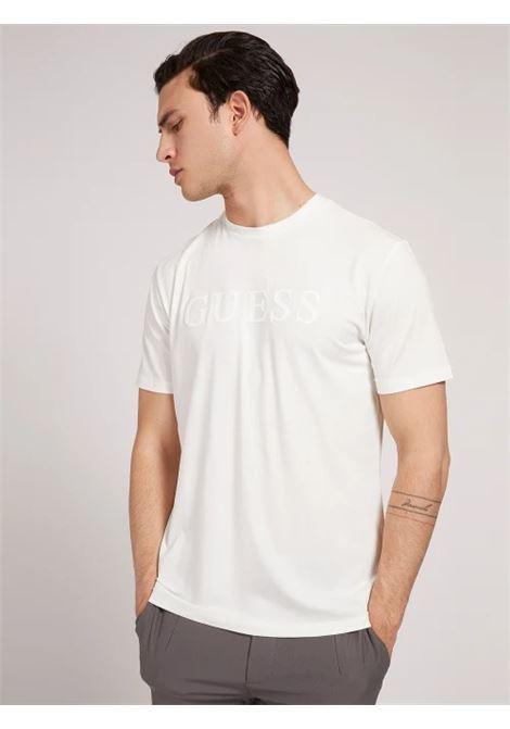 T-shirt logo frontale GUESS ACTIWEAR | T-shirt | U1YA00 JR06KSCFY