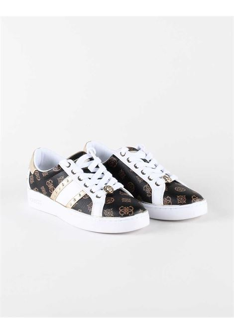 Sneaker bevlee borchie GUESS FOOTWEAR | Sneakers | FL7BVL FAL12WHIBR