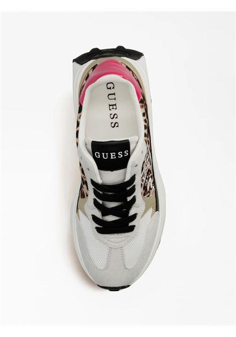Runner calebb animalier GUESS FOOTWEAR | Sneakers | FL7CBB PEL12LEOPA