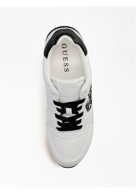 Sneaker hektor 4g logo GUESS FOOTWEAR | Sneakers | FL7HEK ELE12WHBLK