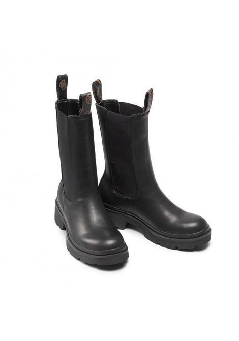 Stivaletto lori inserto stretch GUESS FOOTWEAR | Scarpe | FL7LOR ELE10BLACK