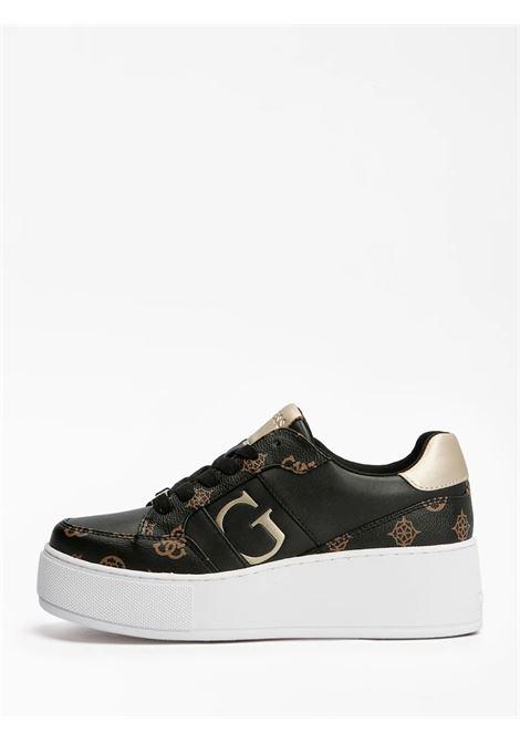 Sneaker neiman 4g logo GUESS FOOTWEAR | Sneakers | FL7NEI FAL12BLKBR