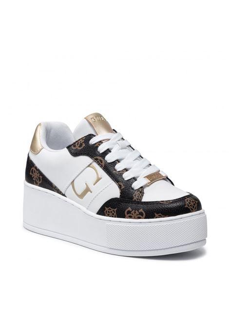 Sneaker neiman 4g logo GUESS FOOTWEAR | Sneakers | FL7NEI FAL12WHIBR