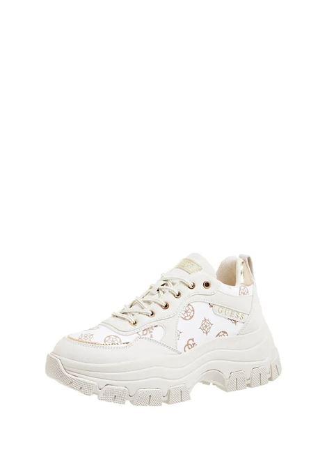 Runner baryt 4g logo peony GUESS FOOTWEAR | Sneakers | FL8BRY FAL12WHITE