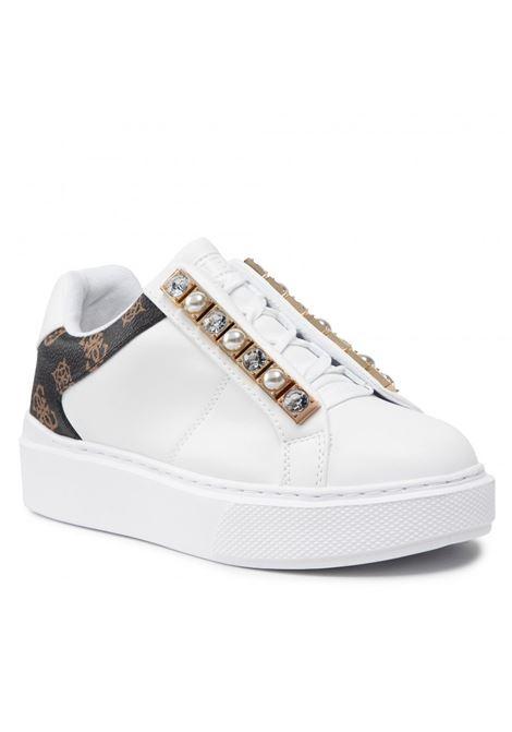 SNEAKERS haya/active lady GUESS FOOTWEAR | Sneakers | FL8HAY ELE12WHIBR
