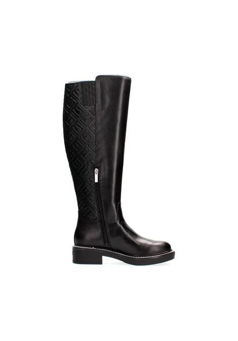 Stivale alto tilde vera pelle GUESS FOOTWEAR | Stivaletti | FL8TDE LEA11BLACK