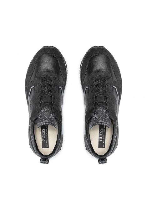 Runner made vera pelle 4g logo GUESS FOOTWEAR | Sneakers | FM7MAD FAL12BLKCO
