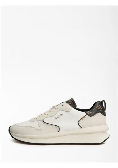Runner made vera pelle 4g logo GUESS FOOTWEAR | Sneakers | FM7MAD FAL12BROCR