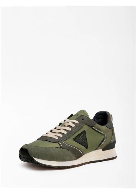Runner new glorym triangolo logo GUESS FOOTWEAR | Sneakers | FM7NGM FAB12CLOVE