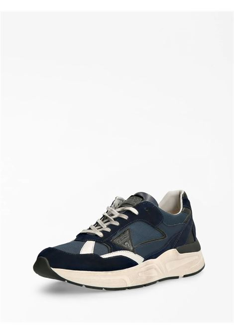 Runner imola scamosciata GUESS FOOTWEAR | Sneakers | FMIMO8 SUE12BLUE