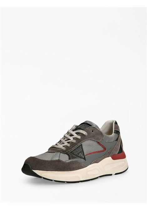 Runner imola scamosciata GUESS FOOTWEAR | Sneakers | FMIMO8 SUE12GREY