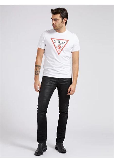 T-SHIRT LOGO TRIANGOLO GUESS | T-shirt | M1RI71 I3Z11G011