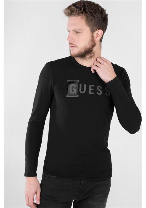T-shirt stampa frontale GUESS | T-shirt | M1YI66 J1311JBLK