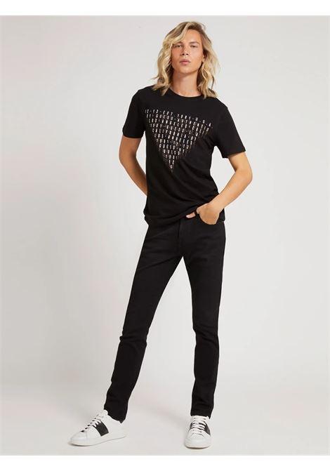 T-shirt stampa frontale GUESS | T-shirt | M1YI67 J1311JBLK
