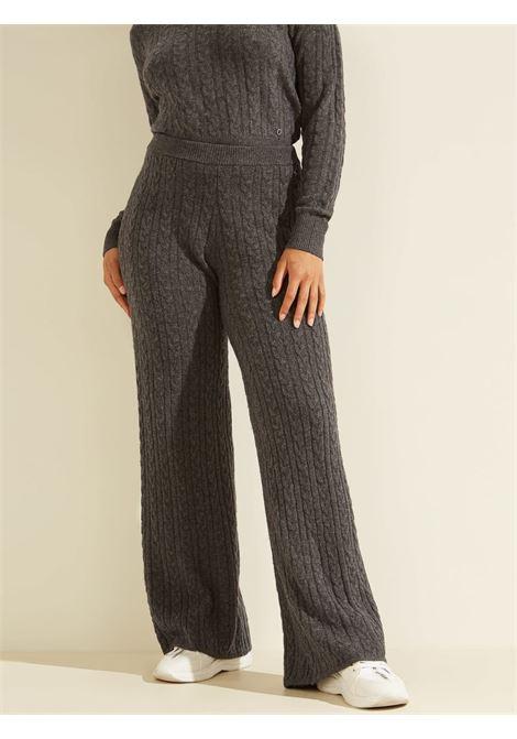 Pantalone in maglia a trecce GUESS | Pantaloni | W1BR07 Z2QA0F9G2