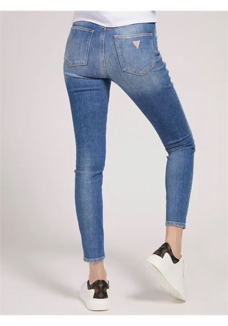 JEANS SKINNY GUESS | Jeans | W1YA28 D46ACSRVV