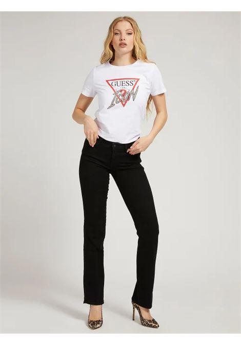 T-SHIRT LOGO ICON GUESS | T-shirt | W1YI0Y I3Z00G011