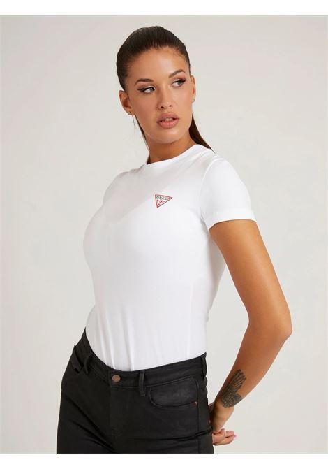 T-shirt triangolo logo GUESS | T-shirt | W1YI0Z J1311G011