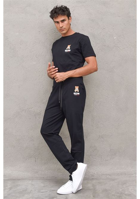 pantalone in felpa teddy MOSCHINO | Pantalone | 4329 9004A0555