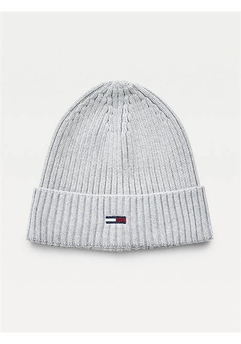 BERRETTO ESSENTIAL IN COTONE BIOLOGICO TOMMY HILFIGER | Cappelli | AW0AW10705P01 LIGHT GREY HEATHER