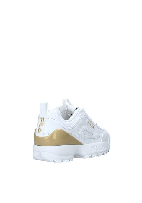 Sneakers Donna Bianco oro FILA FOOTWEAR | Scarpe | 10108621FG WHITE
