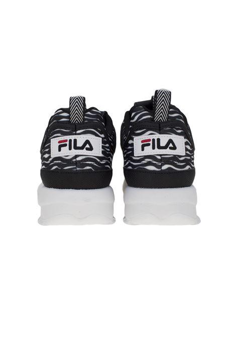 Sneakers in pelle nera FILA FOOTWEAR | Scarpe | 10108639YU ZEBRA BLACK