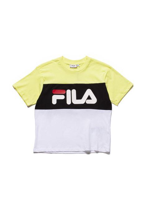 T-shirt FILA | T-shirt | 682125A478 LIMELIGHT-BRIGHT WHITE