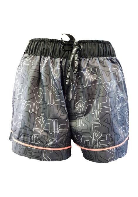 Shorts con laccio FILA | Pantalone | 683062A453 ALLOVER ANTHRA