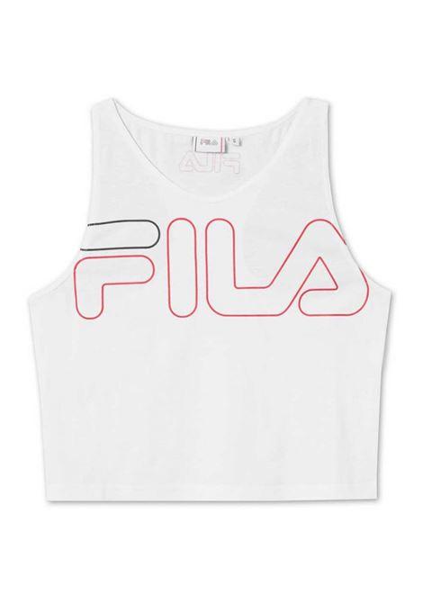 Top con logo FILA | Top | 683077M67 BRIGHT WHITE