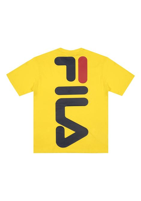 T-shirt con logo FILA | T-shirt | 687484V51 EMPIRE YELLOW