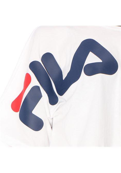 T-shirt crop con stampa FILA | T-shirt | 687497M67 BRIGHT WHITE
