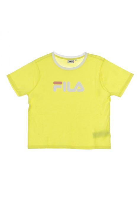 T-shirt con logo FILA | T-shirt | 687614190 LIMELIGHT