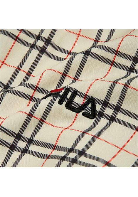 Track Jacket FILA | Giubbino | 687619A434 EGGNOG TARTAN