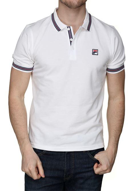Polo con logo FILA | Polo | 687656F50 BLANC DE BLANC